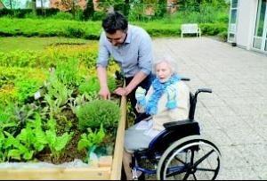 Projet de jardin th rapeutique pour les secondes for Jardin therapeutique