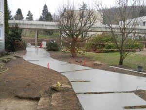 chep acces allee beton