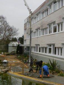 chep beton mise en place