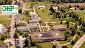 vue aérienne du CHEP