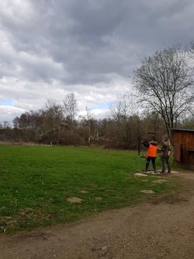 Les élèves du Chep se forme au permis de chasse