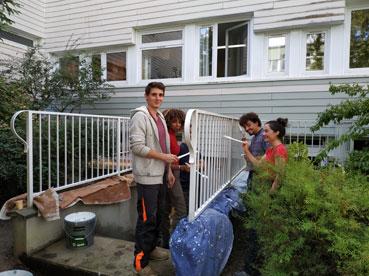 Nettoyage du campus, sept. 2019