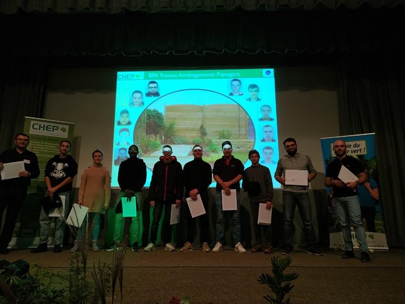 cérémonie de remise des diplômes du Chep 2019