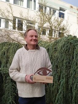 M. François, 2e au concours national de reconnaissance des végétaux