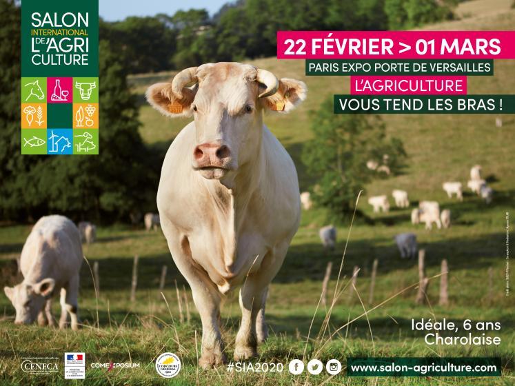 Salon de l'agriculture sur le stand du Conseil Régional - 22 févr - 1er mars 2020