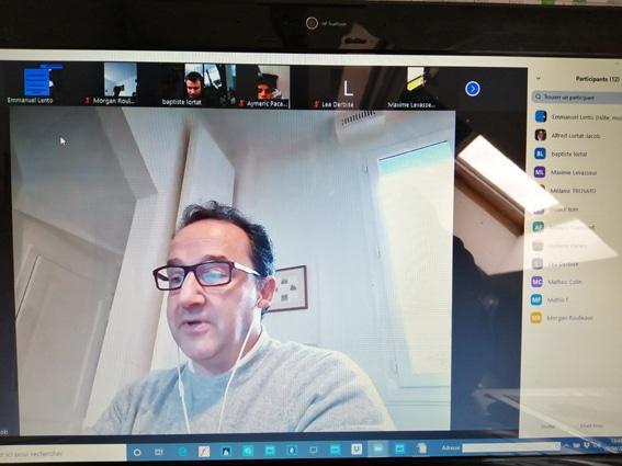 classe virtuelle et continuité pédagogique