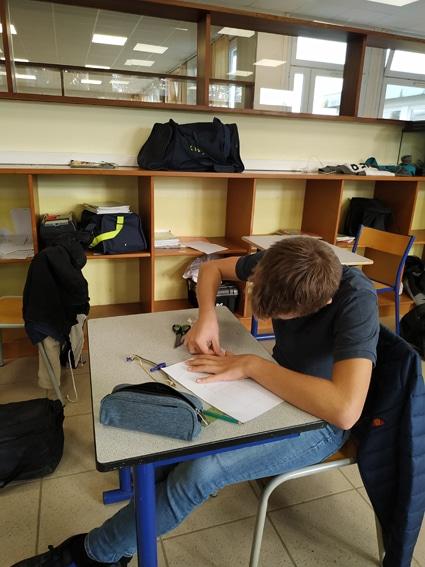 Dessin perspective Seconde Aménagements Paysagers Lycée
