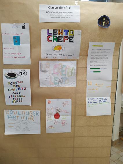 Education du consommateur avec la classe de CAPa 2 Jardinier Paysagiste Lycée