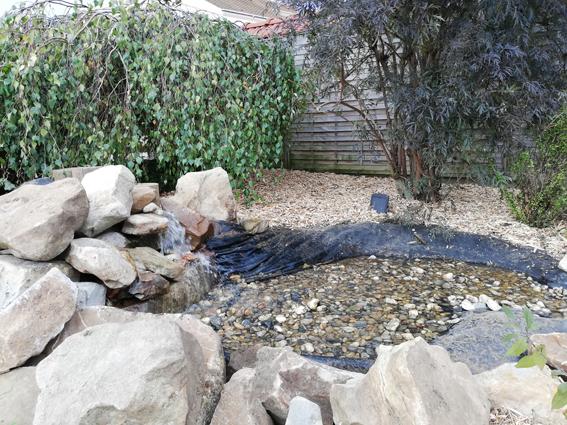 Réfection de bassin pour les apprentis de BP 1