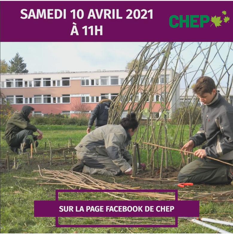 JPO virtuelle du CHEP le 10 avril 2021 à 11h sur Facebook