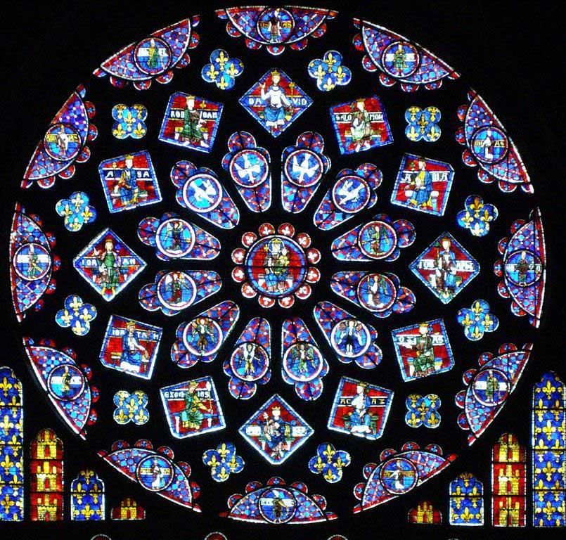 Visite de la Cathédrale Notre Dame de Chartres par les CAPa 1 Lycée