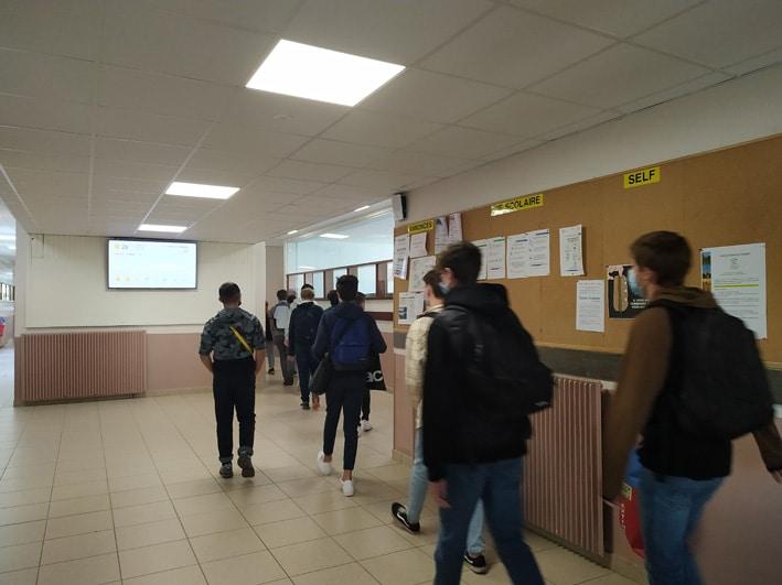 Rentrée scolaire collège et Lycée 2021-2022